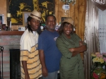 My husband Robin with Andrew and Shonte'